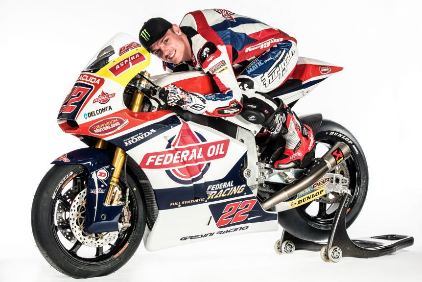 Team Federal Oil Gresini Moto2 Launch