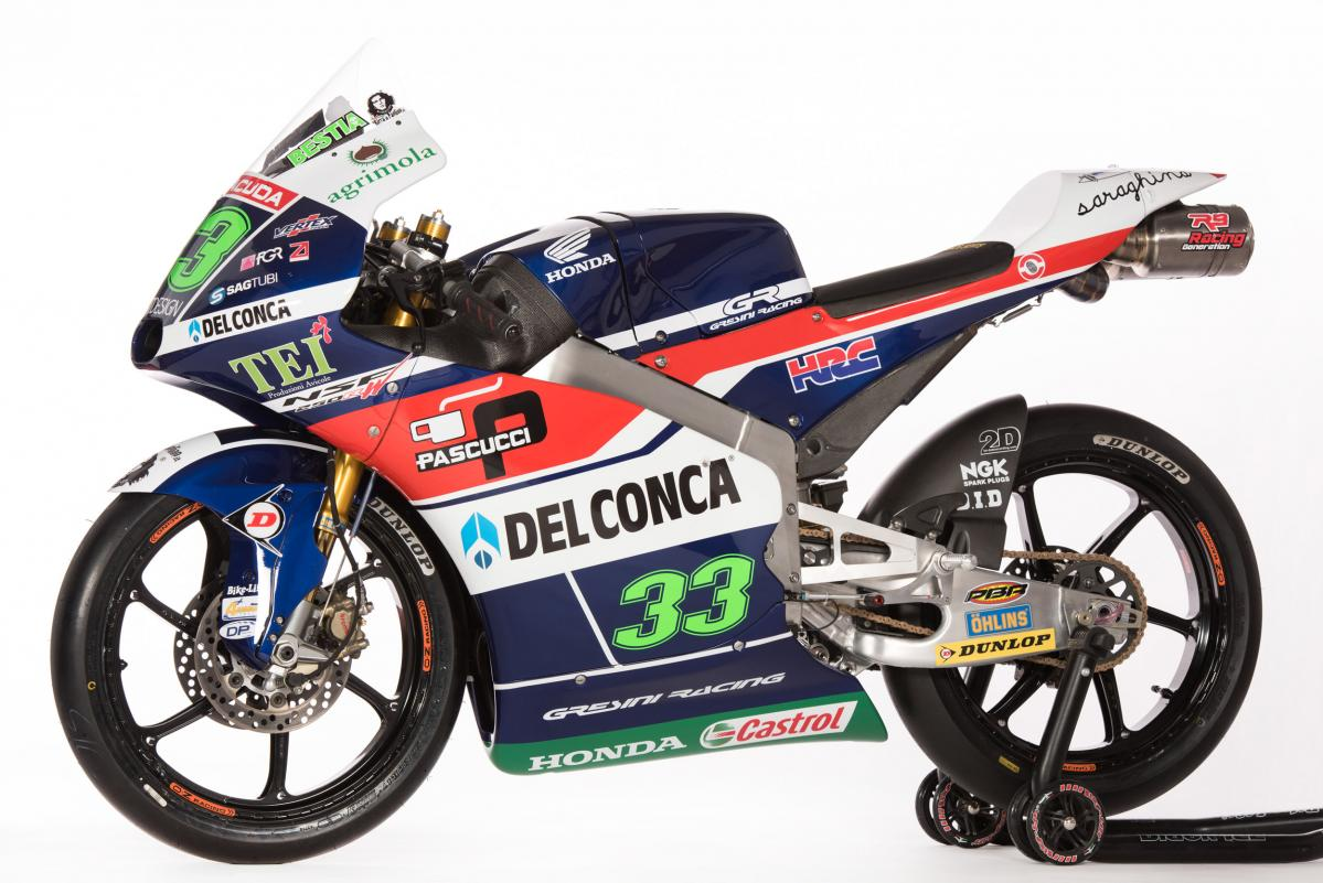 2016 Gresini Racing Team Moto3 launch
