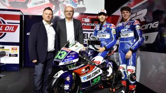 2016 Gresini Racing Team Moto3 launch