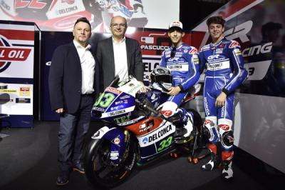 Team Gresini Moto3™, ecco la line up del 2016