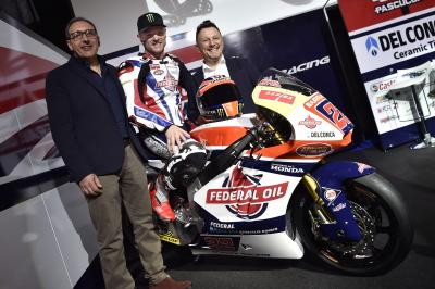 Presentación del equipo Federal Oil Gresini Moto2