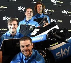 SKY Racing Team VR46 continue with young talent