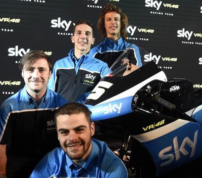 Trois jeunes talents pour le SKY Racing Team VR46