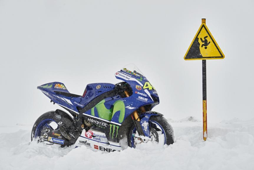 Movistar Yamaha MotoGP Team, Mont Blanc Massif
