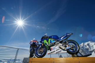 Movistar Yamaha MotoGP Team, Mont Blanc Massif