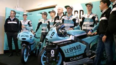 Leopard Racing, cinque piloti per il 2016 in Moto2™ e Moto3™.