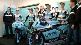 Leopard Racing officially launched their 2016 Moto2™ & Moto3™ World Championship campaigns in style at Gallano Castle in Italy.
