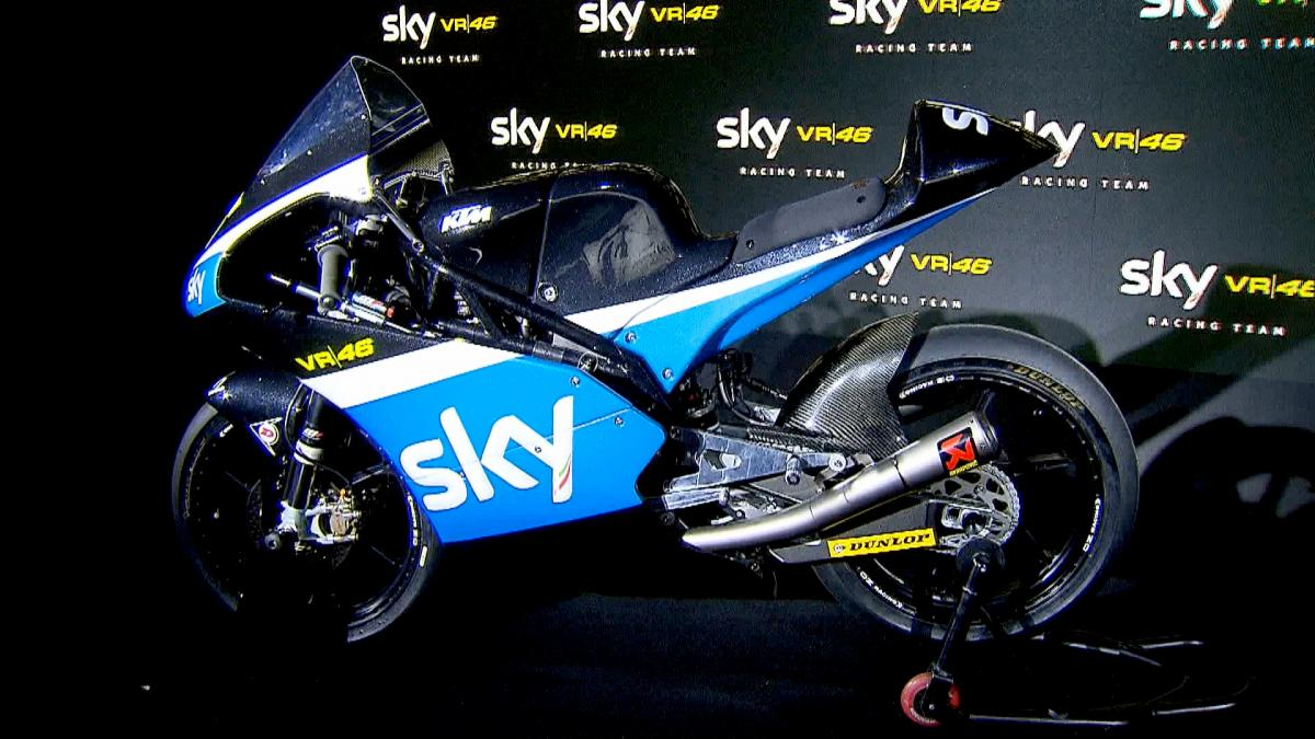 SKY Racing Team VR46 continue with young talent | MotoGP™