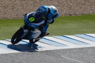 Rookie Bulega charges to lead Moto3™ test