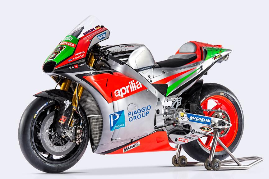 Aprilia Racing Team Gresini 2016 Launch