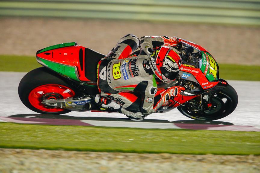 Alvaro Bautista, Aprilia Racing Team Gresini, Qatar MotoGP Official Test