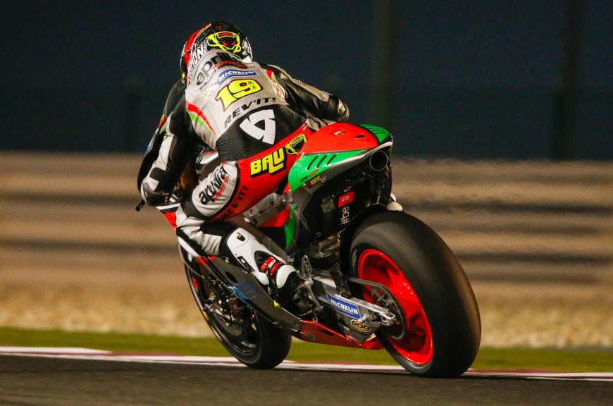 Álvaro Bautista, Aprilia Racing Team Gresini, Qatar MotoGP Official Test