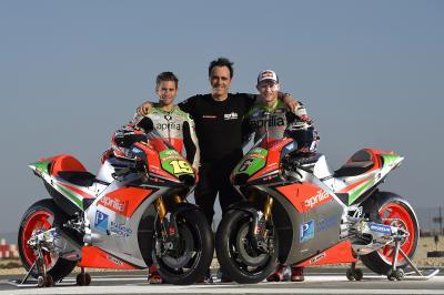 Aprilia lance sa seconde saison en MotoGP™ à Doha