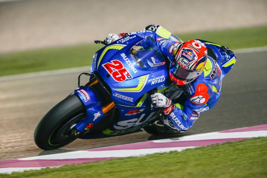 Maverick Viñales, Team Suzuki Ecstar, Qatar MotoGP Official Test