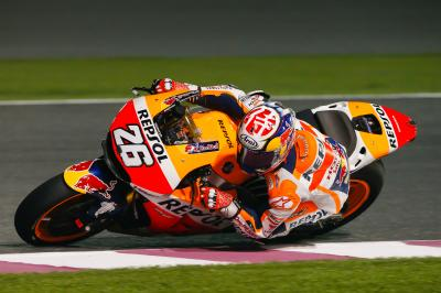 "Pedrosa: ""I didn't put in many laps"""