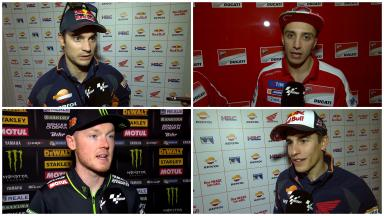 Riders react: Qatar day 1
