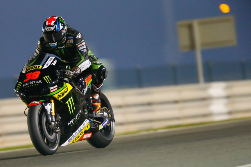 Bradley Smith, Monster Yamaha Tech 3, Qatar MotoGP Official Test