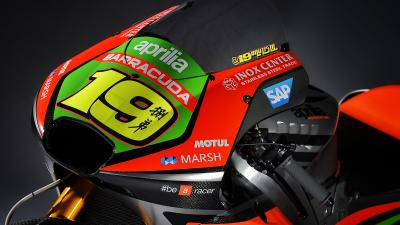 La conception de la nouvelle Aprilia RS-GP