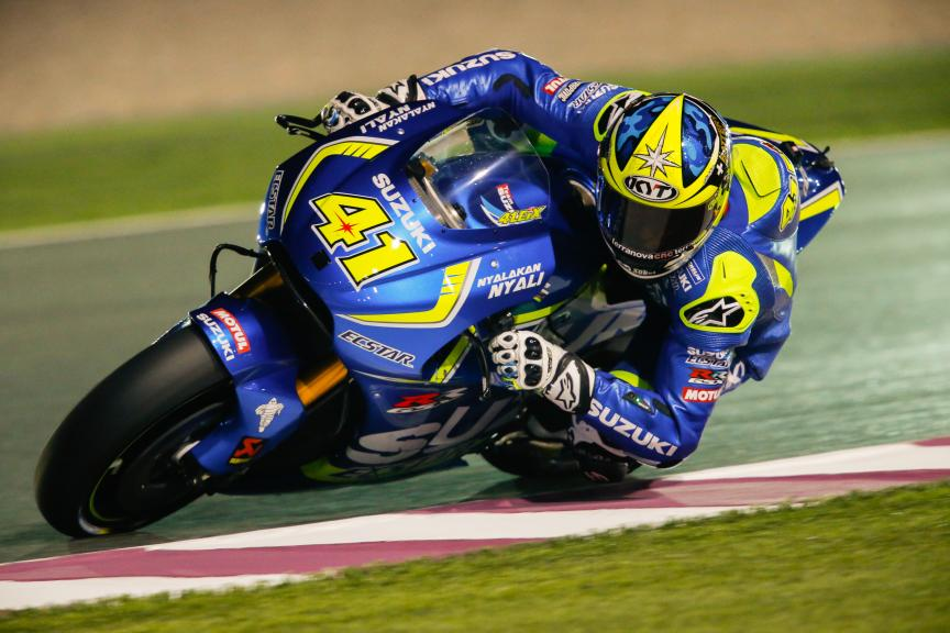 Aleix Espargaró, Team Suzuki Ecstar, Qatar MotoGP Official Test