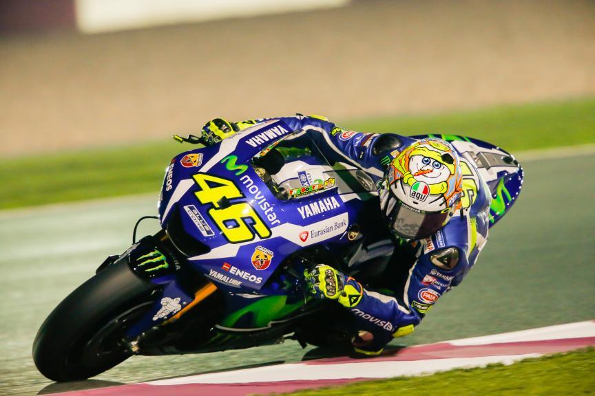 Valentino Rossi, Movistar Yamaha MotoGP, Qatar MotoGP Official Test