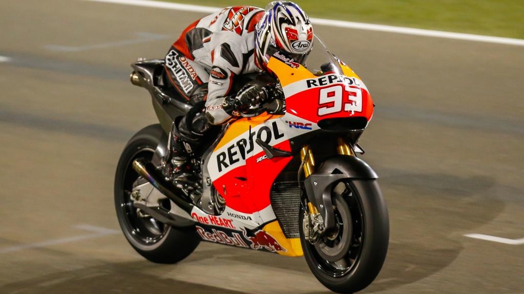 Marc Márquez, Repsol Honda Team, Qatar MotoGP Official Test