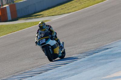 Luthi leads first day of Moto2™ testing in Jerez