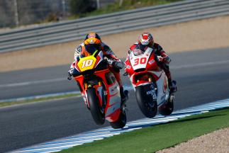 Jerez Moto2 Moto3 Official Test