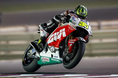 "Crutchlow: ""We were glad to receive the new engine'"