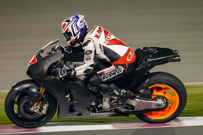 Hiroshi Aoyama, Qatar MotoGP Official Test
