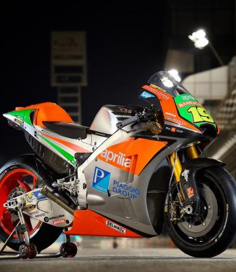 Aprilia reveal their new MotoGP™ machine