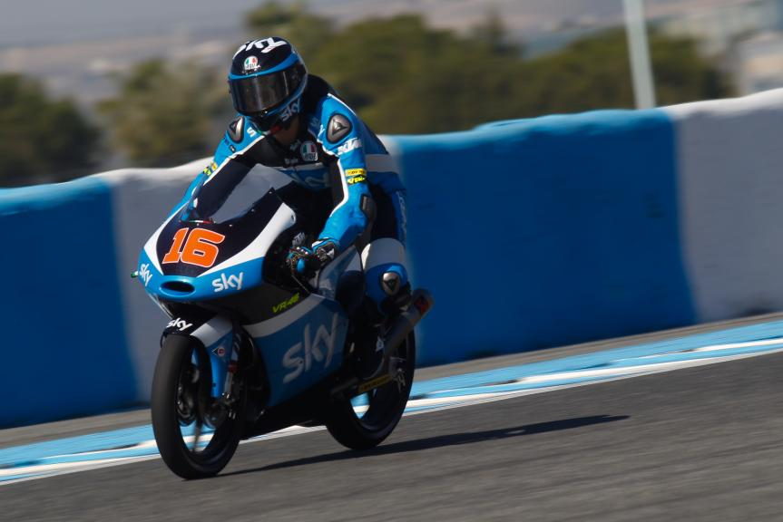 Andrea Migno, Sky Racing Team, Jerez Test