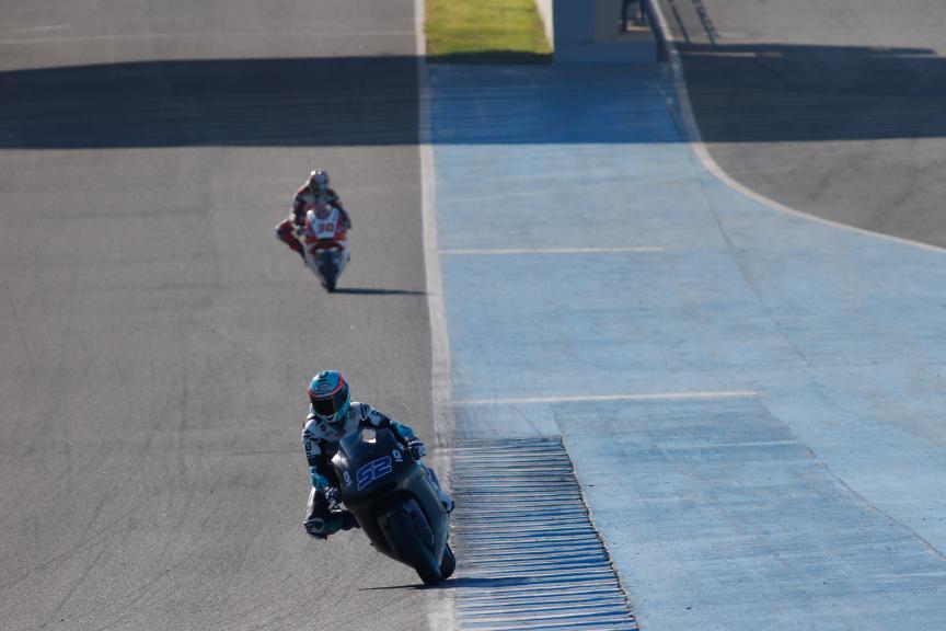 Danny Kent, Leopard Racing, Official Test Jerez