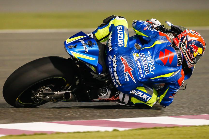 Maverick Viñales, Team Suzuki Ecstar, Qatar MotoGP Official Test
