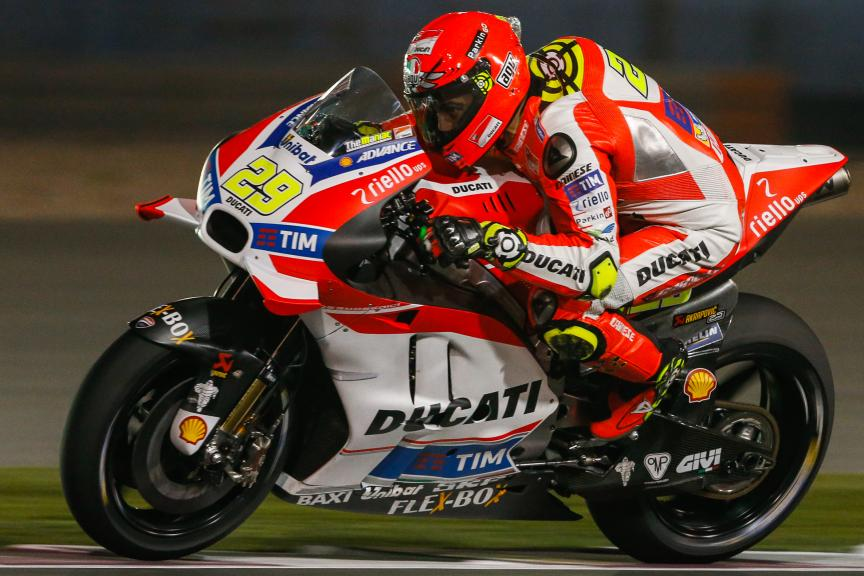 Andrea Iannone, Ducati Racing Team, Qatar MotoGP Official Test
