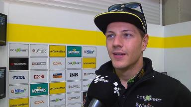 Aegerter: 'A more difficult day than yesterday'