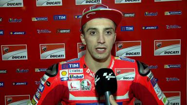 "Iannone: ""Today was a good step for us"""
