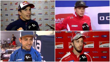 Riders react: Qatar day two