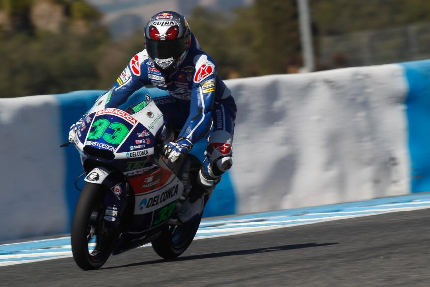 Enea Bastianini Enea, Gresini Racing, Jerez Official Test