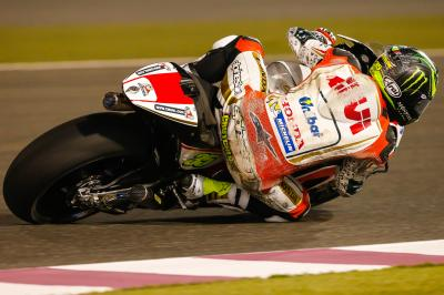 "Crutchlow: ""We had one front tyre basically for the day'"