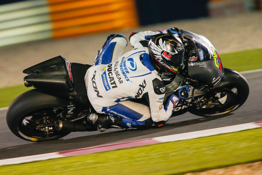Yonny Hernández, Aspar MotoGP Team, Qatar MotoGP Official Test