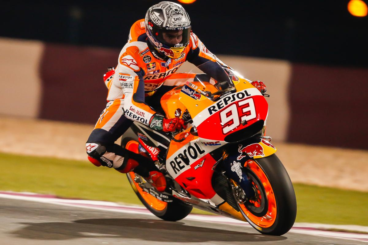 "Marquez: ""We tested some small winglets"" 