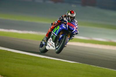 MotoGP™ beginnt zweiten Tag des Katar-Tests
