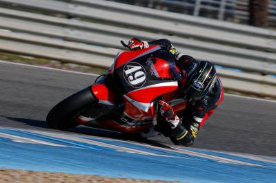 Pons moves to top of Moto2™ testing