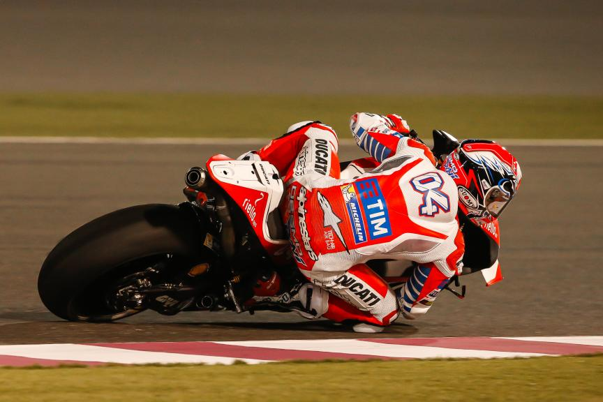 Andrea Dovizioso, Ducati Racing Team, Qatar MotoGP Official Test