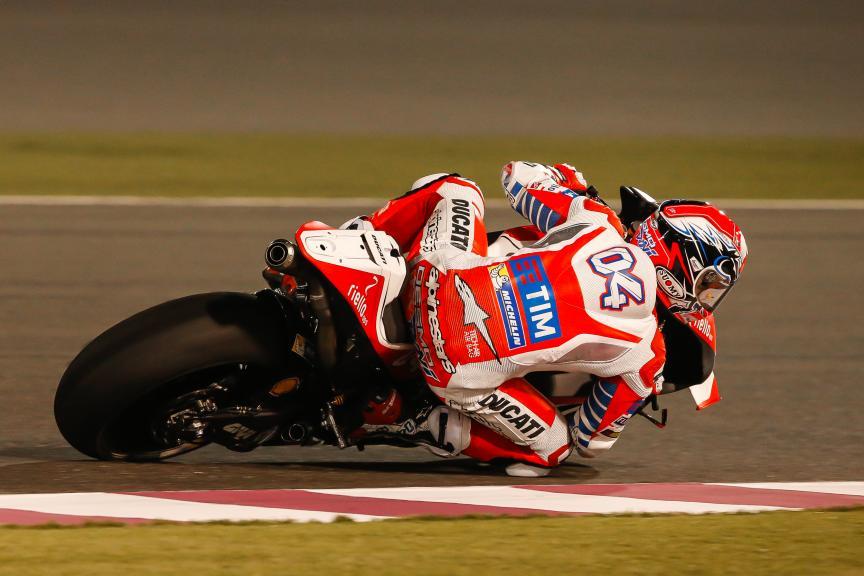 Andrea Dovizioso, Ducati Racing Team, Qatar MotoGP Official Test