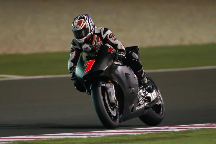 Hiroshi Aoyama, HRC, Qatar MotoGP Official Test