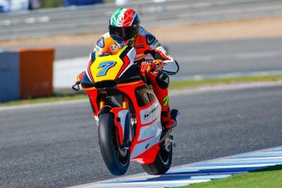 Baldassarri: «Me siento muy bien encima la moto»