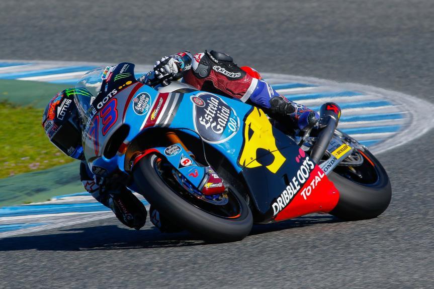 Axel Marquez, Jerez, Moto2 - Moto3 Official Test