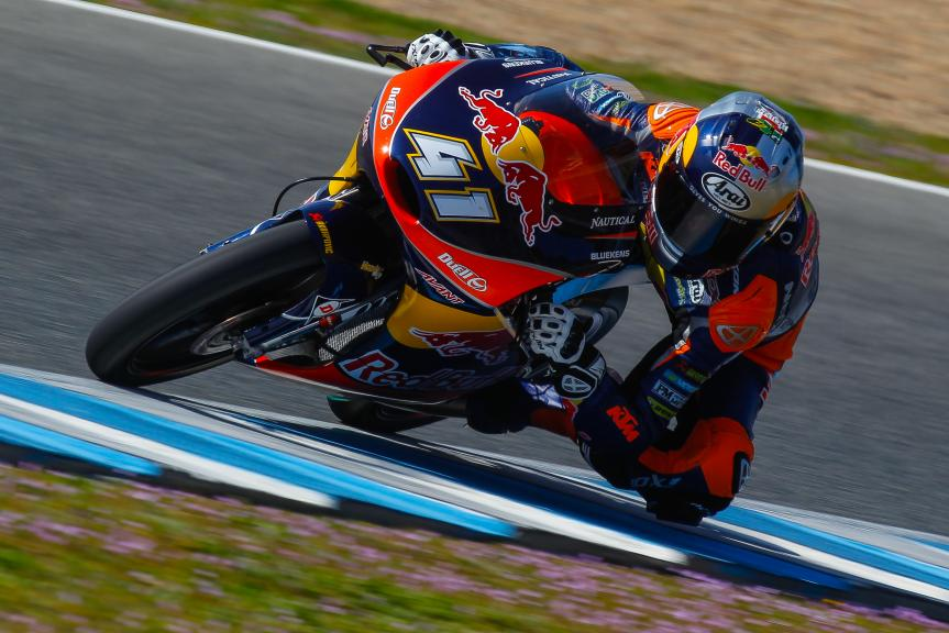 Brad Binder, Jerez Moto2 - Moto3 Official Test