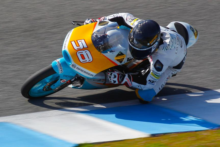 Juanfran Guevara, Jerez Moto2 - Moto3 Official Test